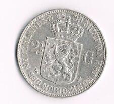 2½ Gulden RIJKSDAALDER 1898 met punt tussen P.Pander - Zeer Fraai+