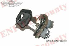 2 ROYAL ENFIELD TOOL BOX LOCK KIT 143539 TRIANGULAR SHAPED TOOL BOX @ ECspares