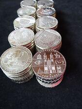 Deutschland 25 x 10 Euro Silber Gedenkmünzen 1 Rolle Silberanlage Sammlung 250 €