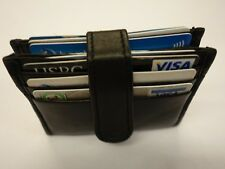 Real Leather Credit Card Business Cards Holder Slim