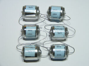 4 x Suflex 16000pF  16n  0.016uF  350v DC 2/% high voltage polystyrene capacitor