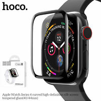 HOCO 3D Curved Tempered Glass Film For Apple Watch Series 5 4 Screen Protector