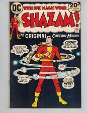 Shazam! #5  The Original Captain Marvel vs the Leprechaun from 1973   Nice VF!