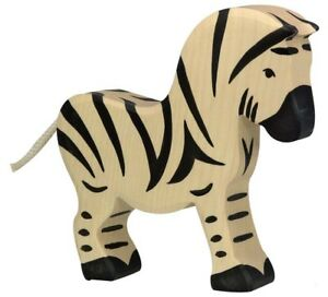 HOLZTIGER 80151: Large Zebra, Collectable Wooden Toy NEW