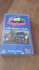 BUSY BUSES COLIN NEEDS A BATH - ABC  VHS VIDEO TAPE
