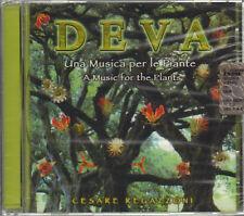 """CESARE REGAZZONI """" DEVA UNA MUSICA PER LE PIANTE """" CD SIGILLATO 1998 LUDI SOUNDS"""