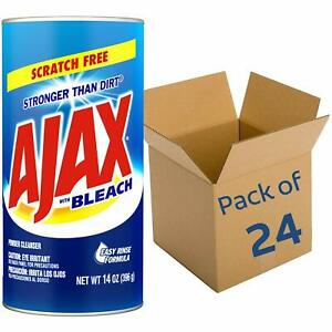 Ajax All-Purpose Powder Cleaner With Bleach Scratch-free 14 oz 24-Pack (195360)