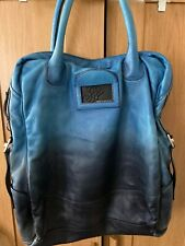 Diesel Leather Tote Bag Use It But In Very Good Condition Worn Ombré Effect