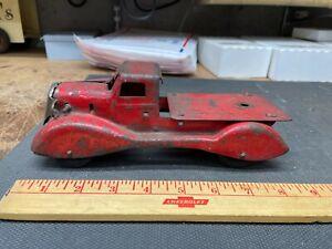 Wyandotte Marx Toy Truck Pressed Steel Wood Wheels Electric Headlights?