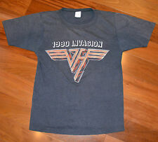 RaRe *1980 VAN HALEN* vtg concert tour t-shirt 70s 80s (S) Eddie David Lee Roth
