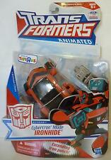 CYBERTRON MODE IRONHIDE Transformers Animated Deluxe Figure TRU Exclusive 2010