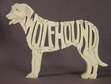 Irish Wolfhound Dog Wood Toy Figurine Puzzle Amish Made