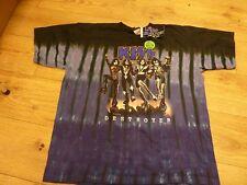 Kiss Destoyer Tiedye oficial de EE. UU. Camiseta XL con GRATIS UK FRANQUEO