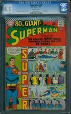 Superman 193 CGC 6.5 Silver Age Key DC Comic Giant Issue L@@K !
