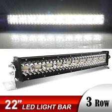 "12D 22 pulgadas LED barra de luz punto curvada inundación 4WD ATV barco 22 """