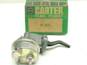 NOS Carter Mechanical Fuel Pump M4512 1967-71 AMC Jeep Jeepster 225 ci