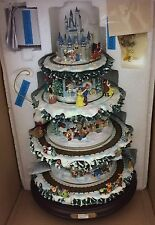 NIB Hawthorne Village Disney Tabletop Xmas Tree 2008 SEE VIDEO Holiday 50 Castle