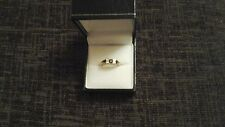 9ct gold gemset ring size m