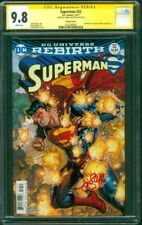 Superman 32 CGC SS 9.8 Jonboy Meyers Signed 2017 Exclusive Variant