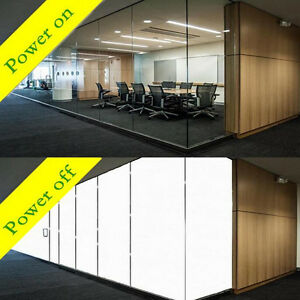 1000mm x 815mm PDLC Smart Switchable Glass Film Electrochromic Vinyl