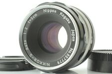 【Near Mint】Nikon Nikkor-S 50mm F2 Pat Pend Non-Ai Lens From Japan L29