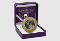 2016 Queen Elizabeth II  90th Birthday Proof 1 OZ Silver  Coin!! CV$250