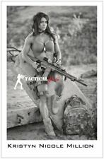 Kristyn Million- Girls and Guns- Signed 11x17 Poster