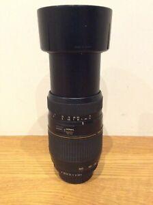 Tamron 70-300mm Lens F4.0-5.6 AF Di LD TeleMacro for Pentax K Ship Worldwide