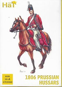 HäT/HaT Napoleonic Wars 1806 Prussian Hussars 1/72 Scale 25mm