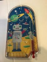 Pinball game tabletop robots space ships F A Swartz 2010 plastic Family fun kids