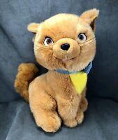 Vintage Disney Aristocats Plush Toulouse Orange Kitty Cat Stuffed Animal- Clean!