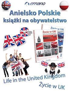 Life in the UK United Kingdom Citizenship Test Book Życie w UK EN 2021 Books