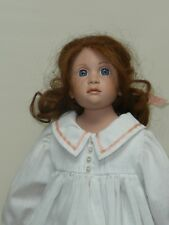 "16"" Hildegard Günzel Alexander Doll Burning Red Hair With Deep Sea Blue Eyes"
