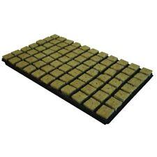 Cultilene 77 x 36mm 3.6cm SBS Rockwool Grow Cubes Tray Propagation Stonewool