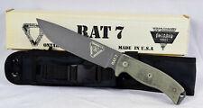 Ontario RAT-7  mit Nylonholster   **NEUWERTIG - Virtrine**