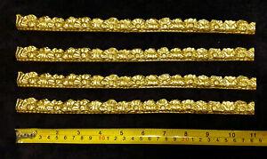 4 DECORATIVE MOULDING ANTIQUE GOLD GILT WHITE STRAIGHT RAIL FRAME DECORATION