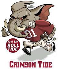 Alabama Crimson Tide # 17 - 8 x 10 - T Shirt Iron On Transfer