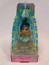 Barbie Fairytopia Mini Fairy Jewel Necklace Aqua Twinkle  New