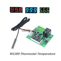 DC12V -50~110°C W1209 Digital Thermostat Temperature Control Switch Sensor