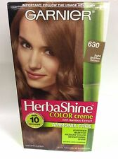 Garnier Herbashine Haircolor Creme ( #630 Light Golden Brown ) AMMONIA FREE.