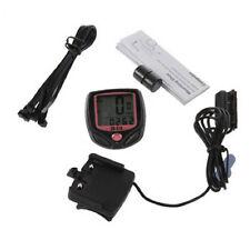 Vélo VTT Chronographe Écran LCD Odomètre Compteur Vitesse Etanche Speedometer