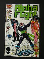 Alpha Flight #37  NM/NM+ 1984 High Grade Marvel Comic Book UNREAD