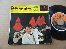 """DISQUE 45T DE DANNY BOY  """" TWISTEZ """""""