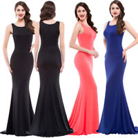 Sexy Women Ladies Bodycon Sleeveless Long Dress Evening Party Cocktail Clubwear