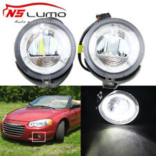 For Dodge Stratus Chrysler Pacifica Sebring DRL+Fog Lights Lamps Assembly Round