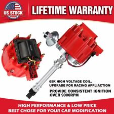 HEI Complete Distributor 65K Coil Compatible with Oldsmobile V8 Small Block Big