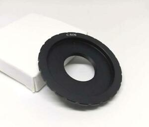 C to Canon SLR DSLR EOS EF EF-S Lens Mount Adapter Inner 25.4mm C-EOS