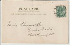 "IRELAND - "" LISMORE R.S.O. CO.WATERFORD "" POSTMARK 1903 POSTCARD"