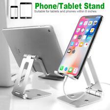 Adjustable Cell Phone Stand Tablet Desk Holder Desktop Phone Cradle Dock