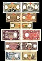 2x  10 - 1.000 Lire - Ausgabe 1926 - 1943 - Reproduktion - 12